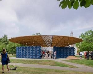 Serpentine Pavilion progettata da Francis Kéré