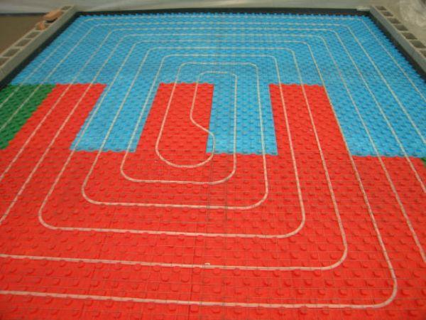 Massetto CT25 FIBERPLUS per la realizzazione di pavimentazioni  riscaldanti/raffrescanti