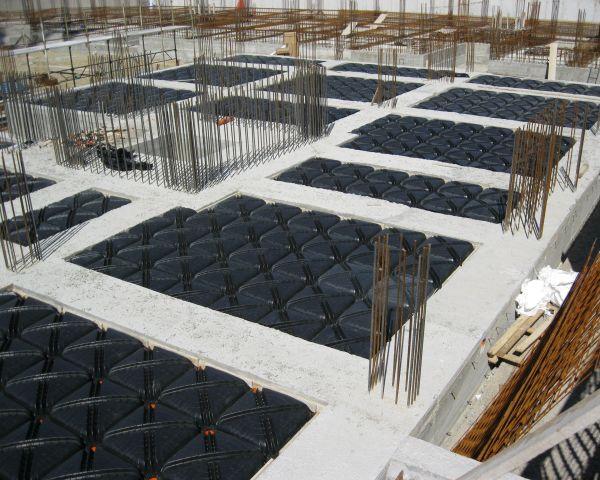 I pavimenti contro terra per l'isolamento degli edifici