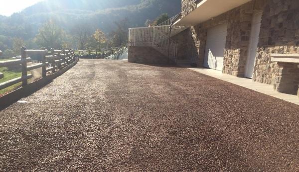 Pavimentazione realizzata con Drainbeton