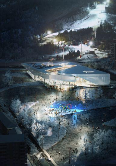 Nuovo Museo delle Olimpiadi a Pechino