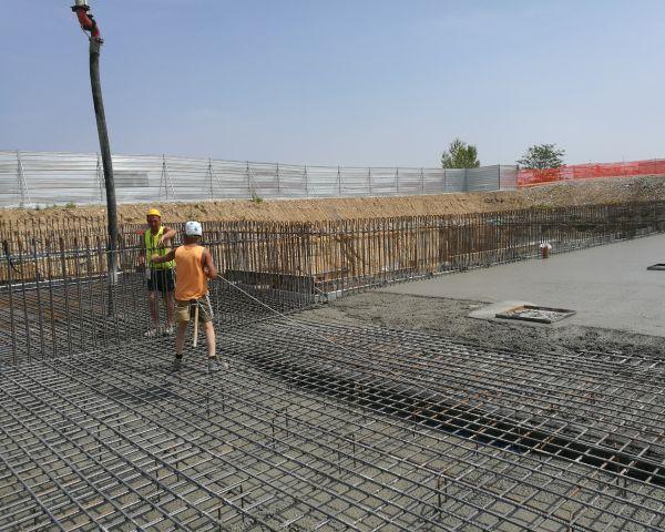 Tecnologia Penetron per i parcheggi della nuova Esselunga di Novara
