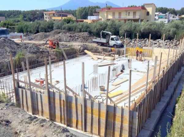 Impermeabilizzanti del calcestruzzo Penetron per un progetto a Pompei