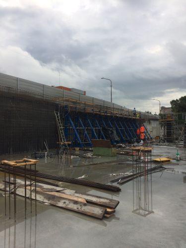L'interrato del nuovo ospedale di Pordenone è stato realizzato con la tecnologia Penetron Admix