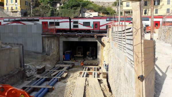 Per il nuovo sottovia carrabile per l'RFI di Ventimiglia utilizzata la tecnologia Penetron