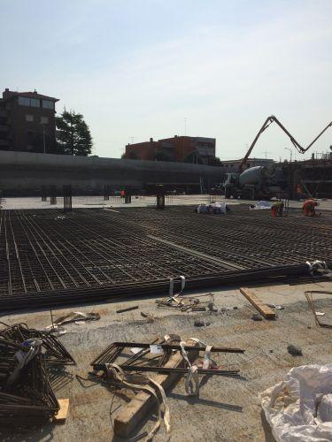 L'interrato del nuovo ospedale di Pordenone realizzato con la tecnologia Penetron Admix.