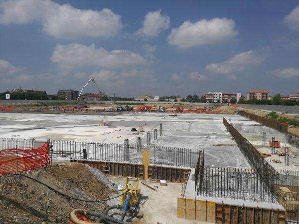 Penetron admix per la realizzazione del parcheggio sotterraneo dell'Esselunga di Novara
