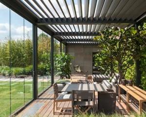 Architettura bioclimatica per l'outdoor
