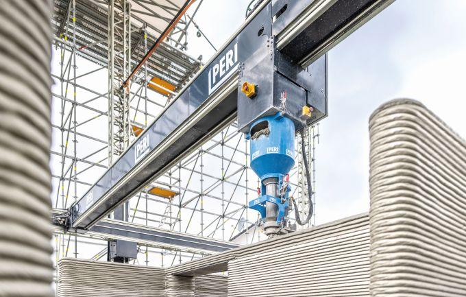 In Germania realizzato da Peri il primo condominio stampato in 3D