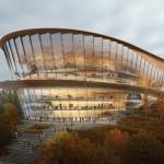 Un nuovo teatro dalle forme sinuose imiterà il movimento della danza