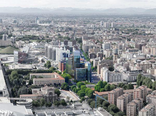 Pharo Business Center, in via di realizzazione a Milano