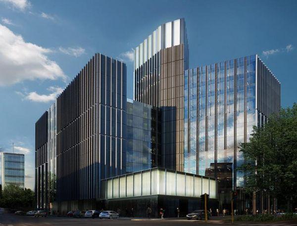 Pharo Business Center, complesso direzionale in costruzione a Milano