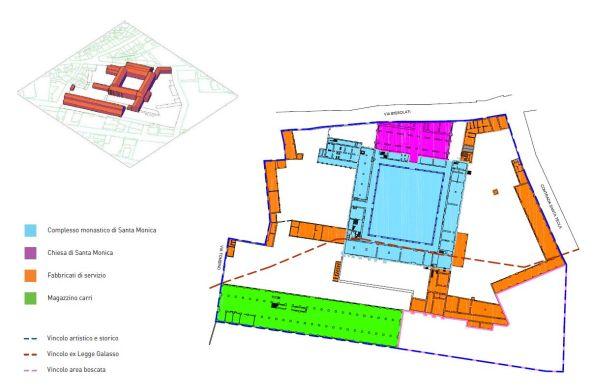 Pianta del progetto del nuovo Campus universitario di Cremona