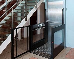 Elevatori verticali serie Smart per grandi e piccoli dislivelli