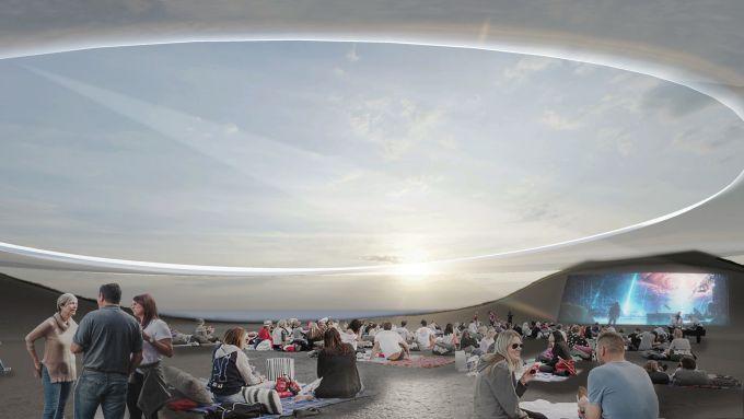 Roadshow Center in Cina: La piazza centrale e l'alone interstellare