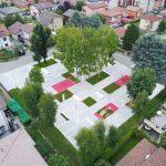 La nuova piazza-giardino di Garbagnate Milanese si apre al dialogo