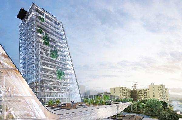 La nuova sede di Higold progettata da Pininfarina Architects