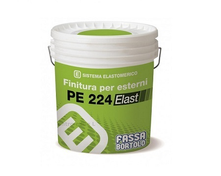 Pittura elastomerica PE 224 ELAST di Fassa Bortolo