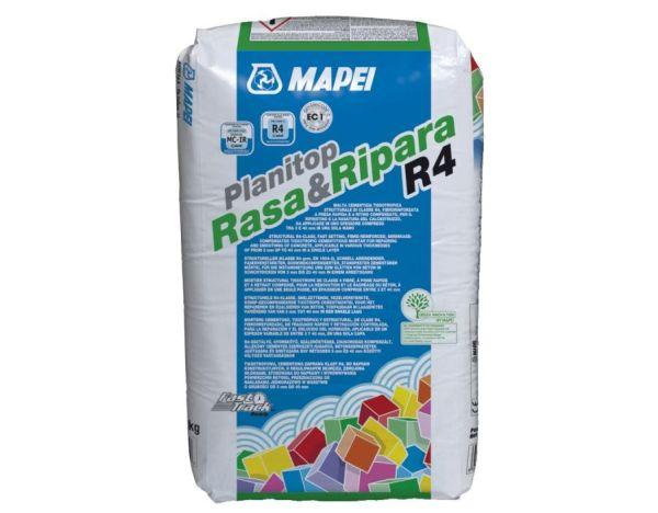 Planitop rasa&ripara R4 di Mapei: malta cementizia tissotropica strutturale di classe R4