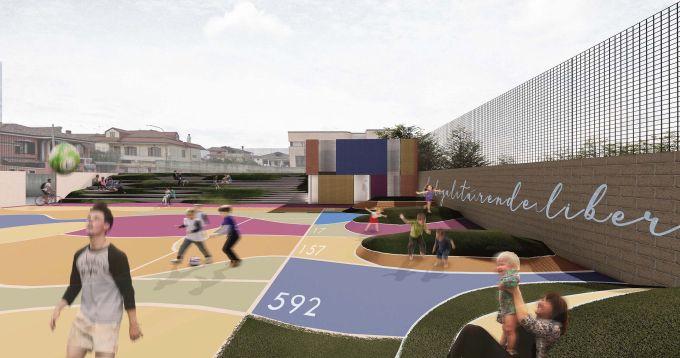 Playground Urbano . Tiziano D'Angelo e Luisa Santoriello - San Cipriano
