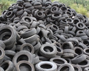 Da vecchi pneumatici e cavi nuovi prodotti per l'edilizia sostenibile