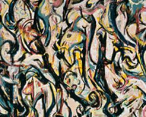 Jackson Pollock, Murale. Energia resa visibile
