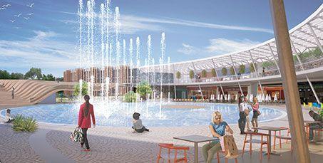 Nuovo centro commerciale Maximall Pompeii con negozi, cinema e spazi condivisi