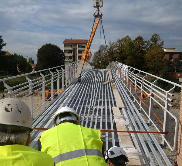 Ponte ciclopedonale di Parma