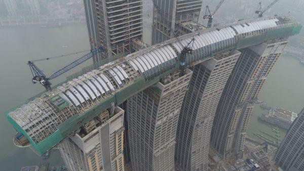Completato il progetto strutturale dell'incredibile ponte The Crystal