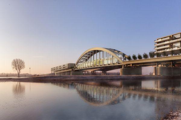 Progetto riqualificazione ponte fiume Lek nei Paesi Bassi