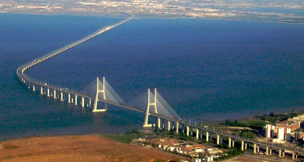 Ponte più lungo d'Europa: Vasco da Gama
