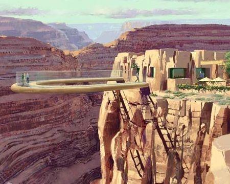 Skywalk sul Gran canyon