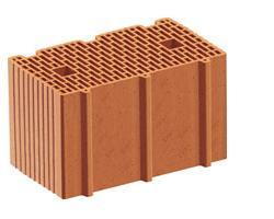 Muratura monostrato con mattoni rettificati