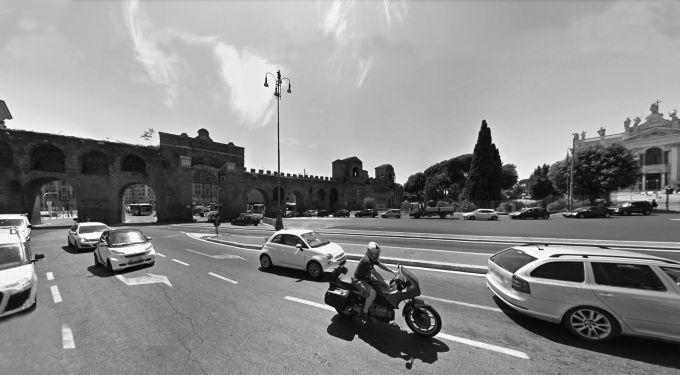 Roma, Porta San Giovanni