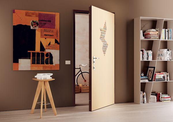 Porta blindata segreta for Porte 200x80