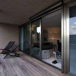 Porte e finestre in alluminio scorrevoli NC-S 150 STH HES