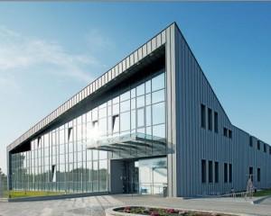 Rivestimento in alluminio per un centro medico