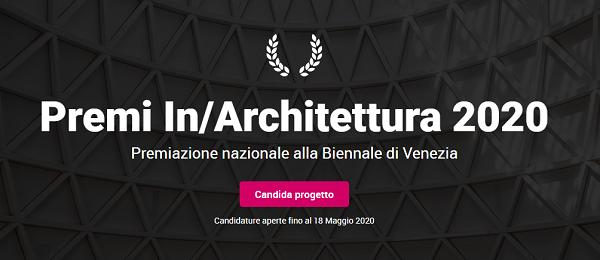 Premi In/Architettura 2020