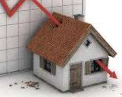 Tracollo dell'indice dei prezzi delle case 1