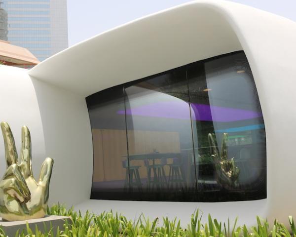 A Dubai il primo edificio al mondo stampato in 3D