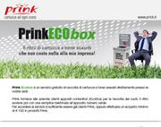 Scopri Prink ECObox: ritiro gratuito di cartucce vuote