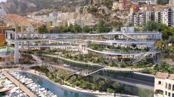 Il nuovo look del quartiere Fontvieille nel Principato di Monaco firmato Fuksas