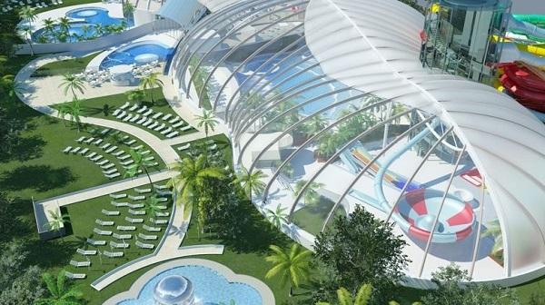 Progetto del parco acquatico Aquaworld