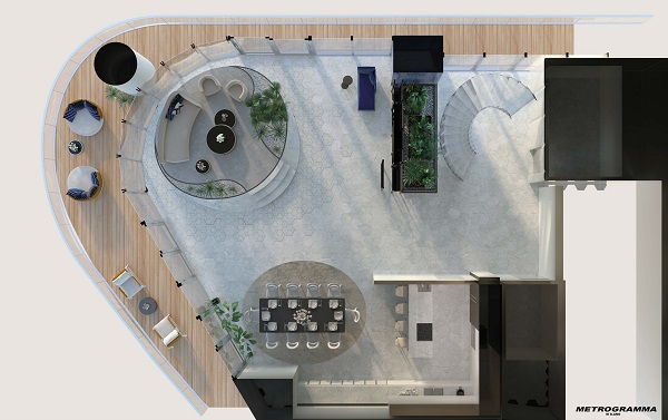 Progetto della Penthouse di Miami