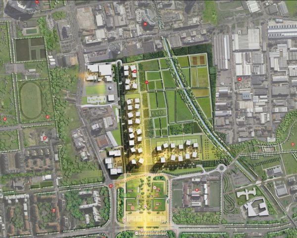 Planimetria del quartiere SeiMilano e dell'hub Bisceglie