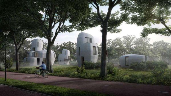 Project Milestone Primo progetto al mondo di case stampate in calcestruzzo 3D abitate