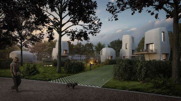Le case stampate in 3D di Project Milestone, dal design arrotondato e asimmetrico