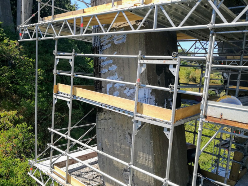 Ripristinare un ponte in calcestruzzo degradato con i prodotti Azichem