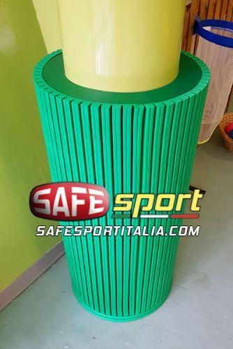 Protezione antitrauma delle colonne di Safe Sport Italia