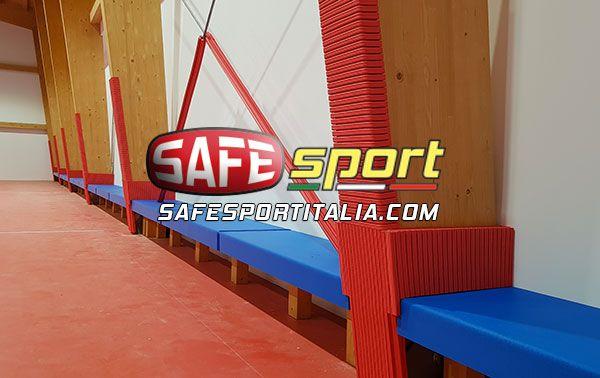 sportive protezioni antitrauma per pilastri e colonne
